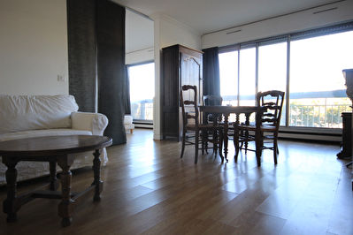 PARIS 19 - GRAND STUDIO - 54M2 - 1414.08 EUROS - LOCATION MEUBLEE - IMMEUBLE DE STANDING